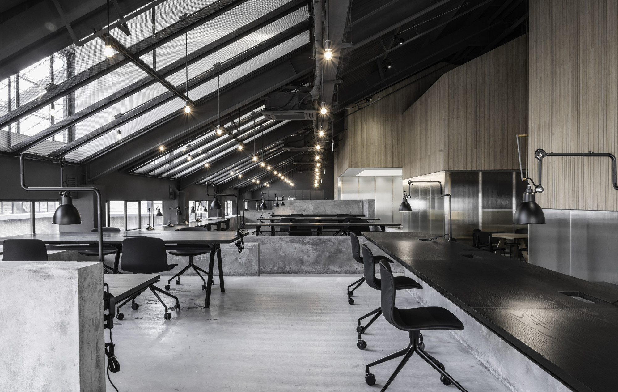 Flamingo shanghai office neri hu design and research R house architecture research office