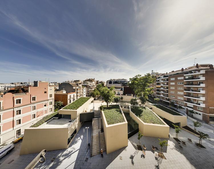 Biblioteca Joan Maragall  / BCQ Arquitectura, © Ariel Ramirez
