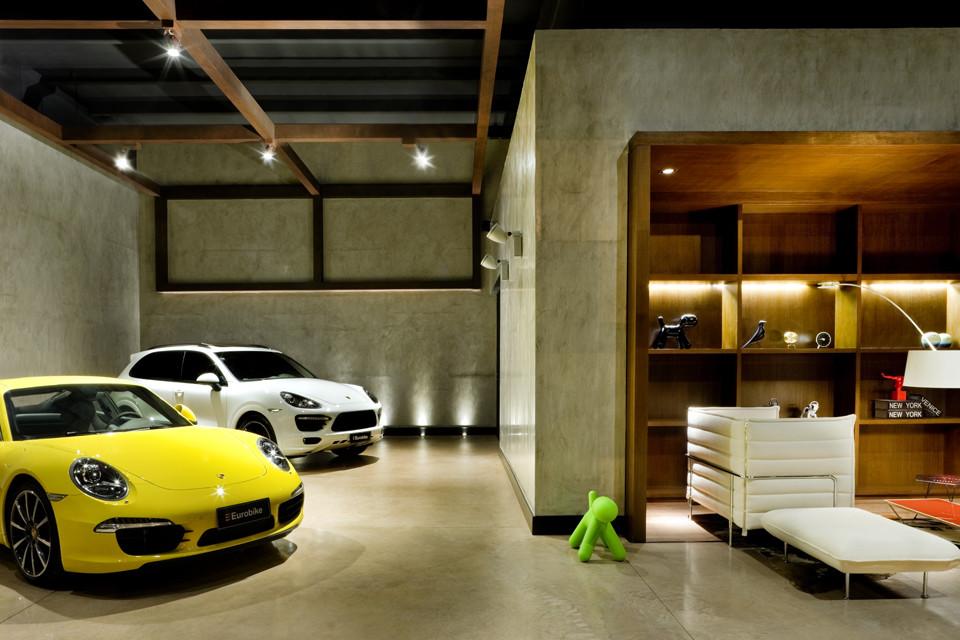 Showroom Eurobike Porsche 1 1 Arquitetura Design