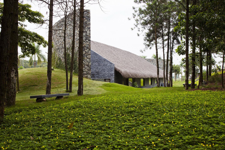Dalai Conference Hall / Vo Trong Nghia Architects. Imagen © Hiroyuki Oki