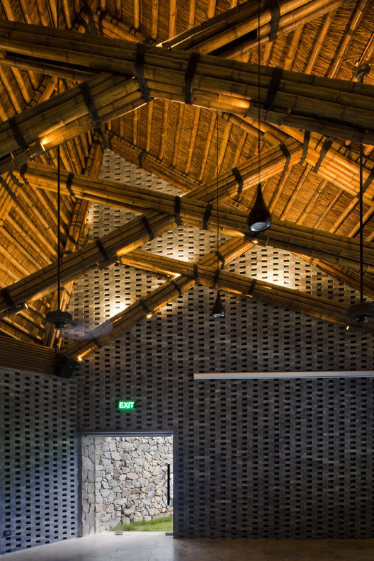 Dailai Conference Hall / Vo Trong Nghia Architects. Image © Hiroyuki Oki