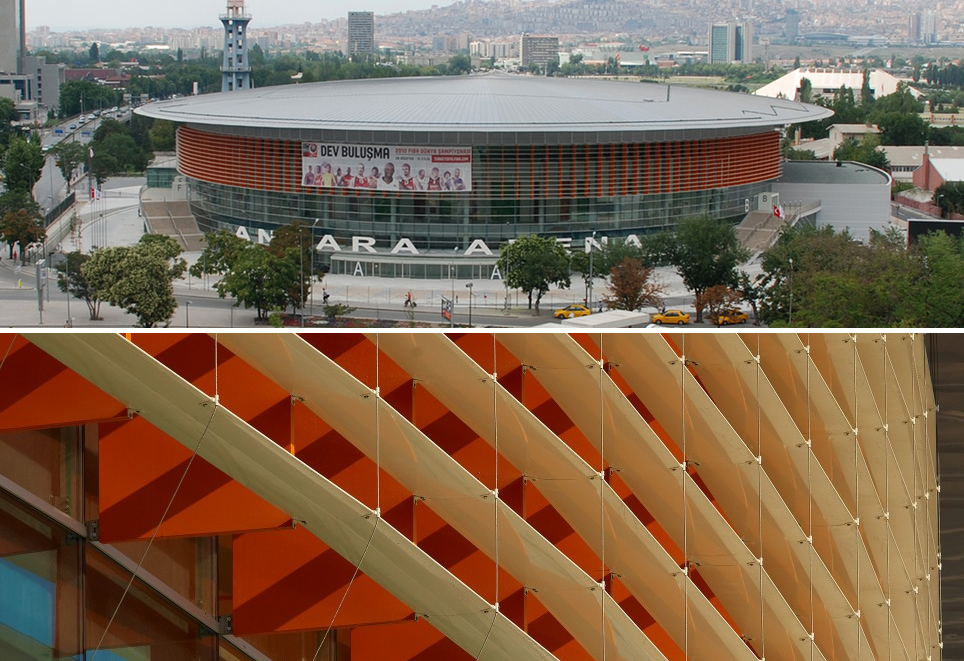 Estadio Ankara Arena / Yazgan Design Architecture. Image © Yunus Özkazanç