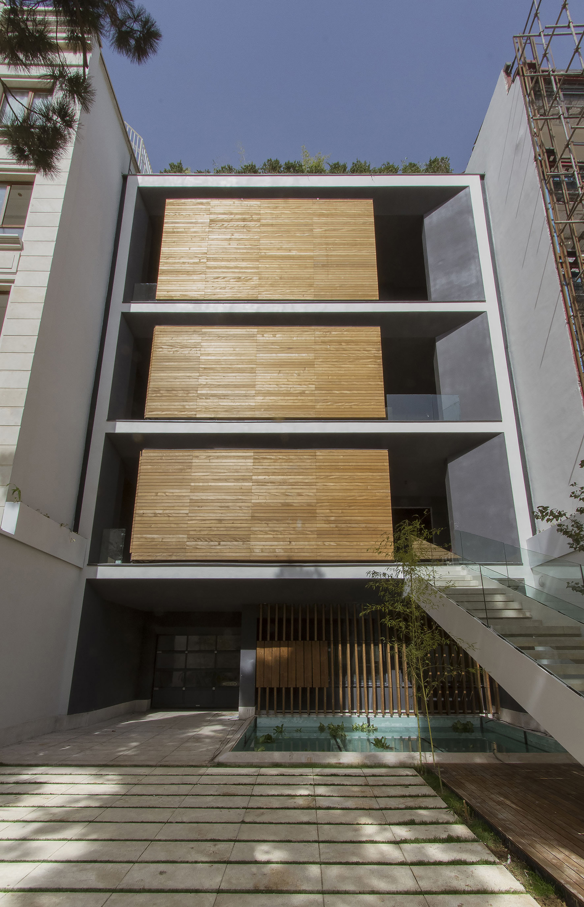Gallery of sharifi ha house nextoffice alireza for Revit architecture modern house design 1