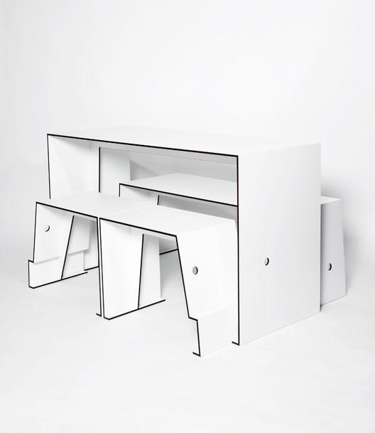 Mesa compacta de café / Sigurd Larsen