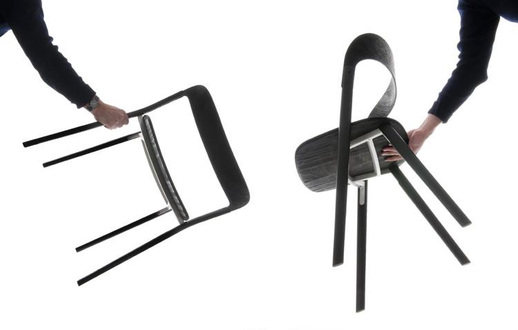 Silla y Mesa Baguette / Estudio Bouroullec