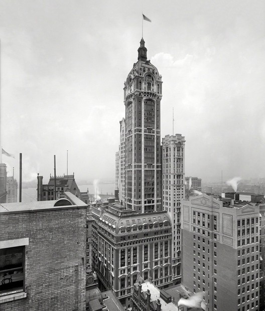 Singer Building, New York City. Image © Shorpy