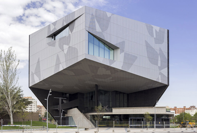 Caixaforum zaragoza estudio carme pinos plataforma for Estudios arquitectura zaragoza