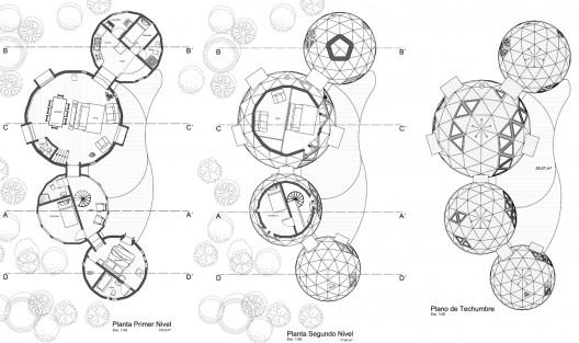 En construcci n planta circular plataforma arquitectura for Plantas de oficinas arquitectura