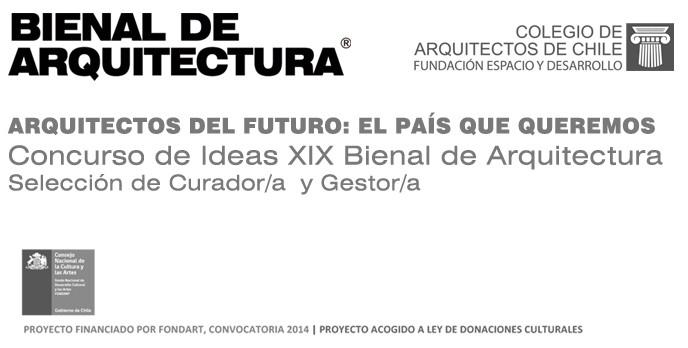 Anuncian a las cinco propuestas participantes en inédita convocatoria de curador para próxima Bienal Chilena