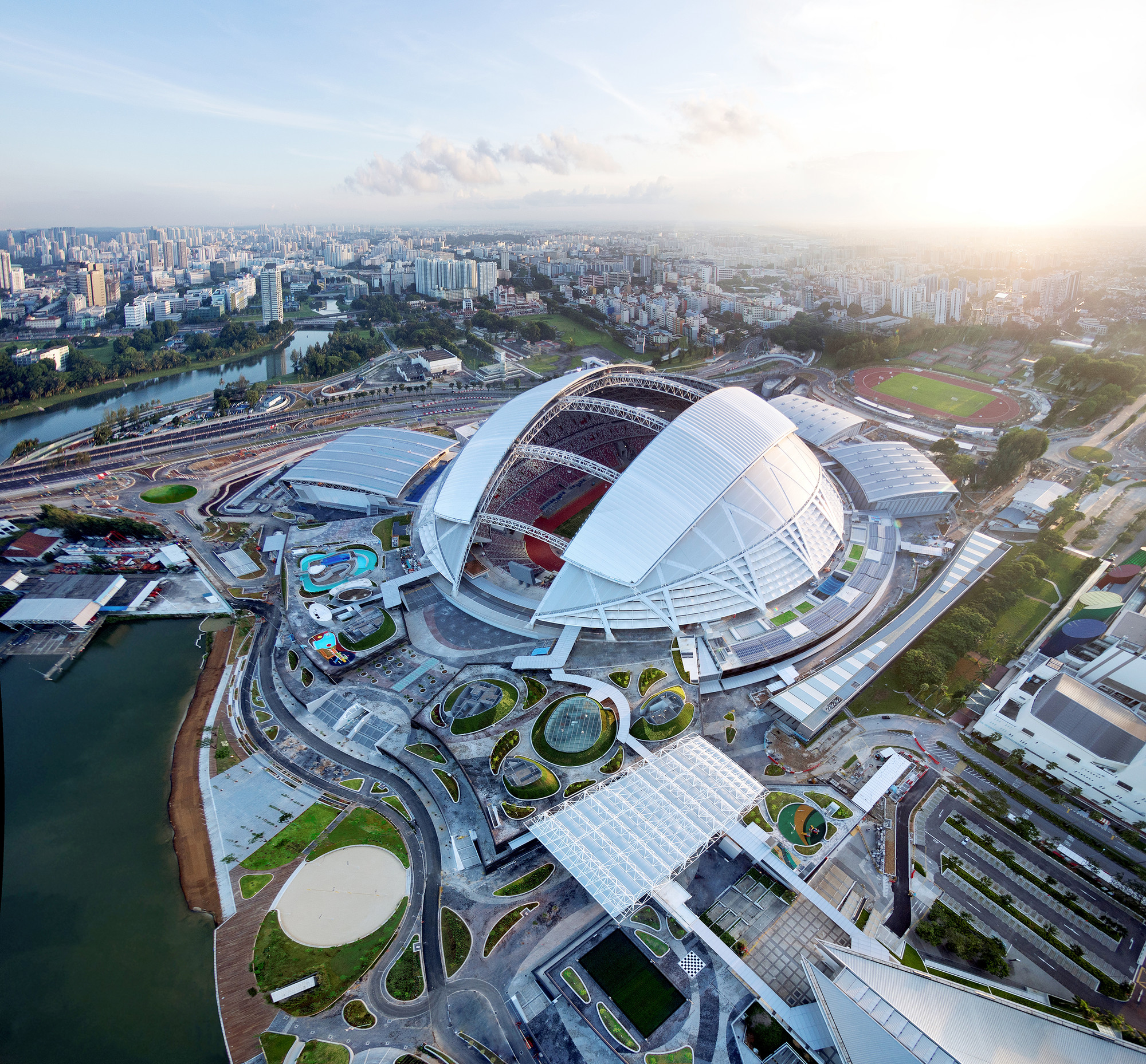 Singapore SportsHub / DPArchitects, Courtesy of DP Architects
