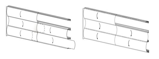 Posibilidades de Instalación / Wave Wall