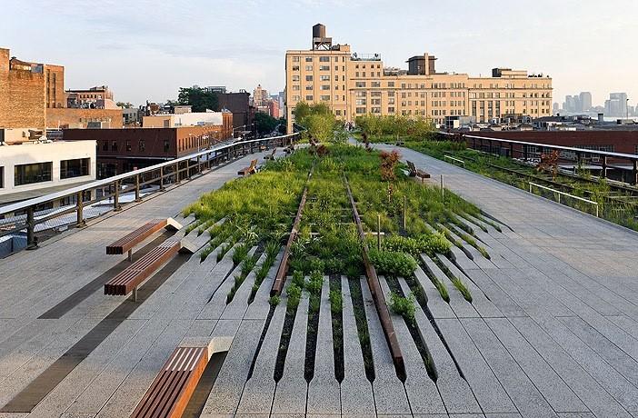 The High Line  / Diller Scofidio + Renfro. Imagen © Iwan Baan