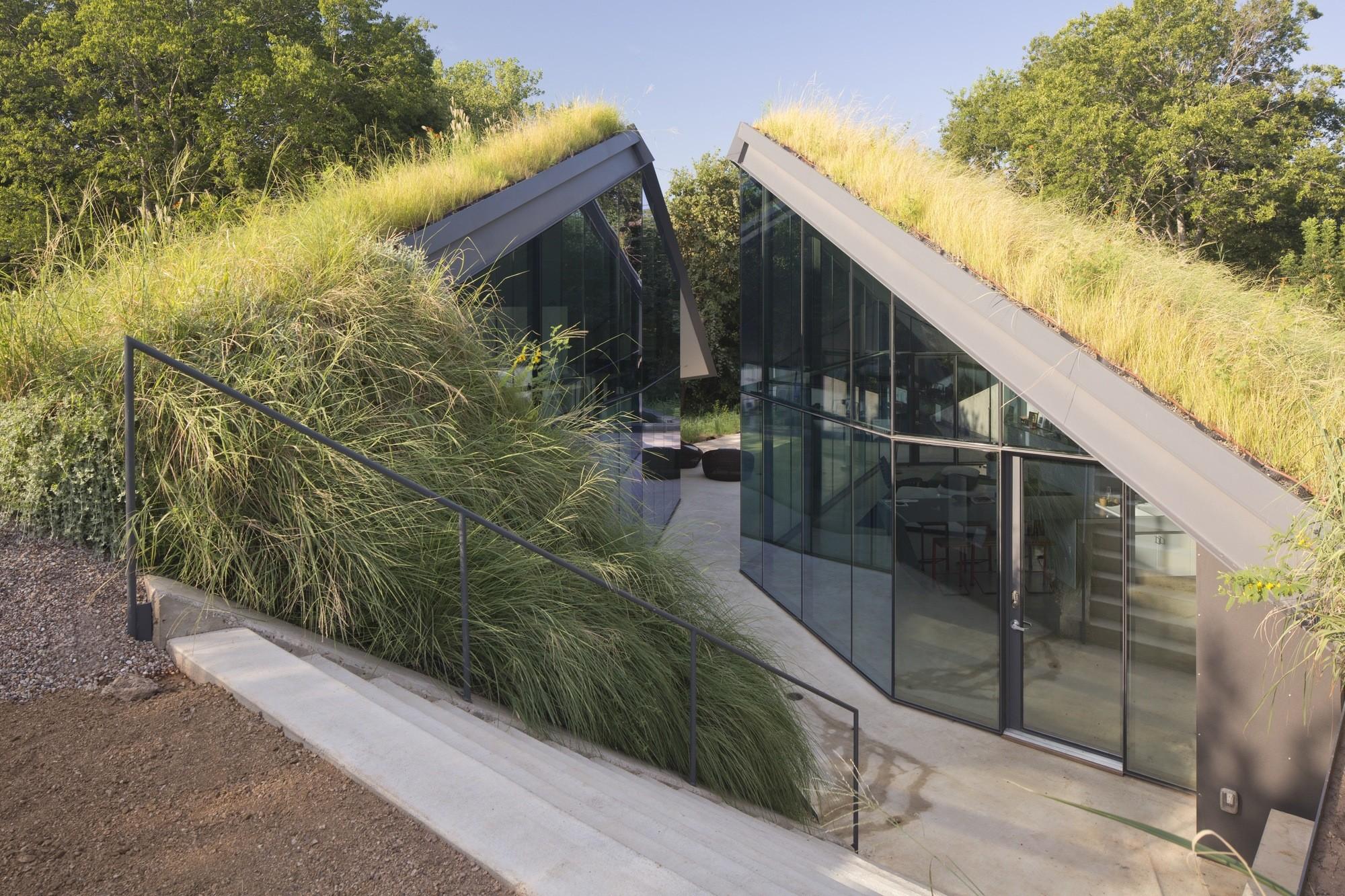 Edgeland House / Bercy Chen Studio. Imagen © Paul Bardagjy
