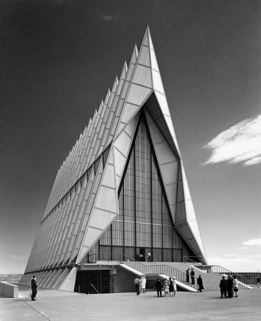 USAFA Cadet Chapel / Skidmore, Owings & Merrill. Image © Balthazar Korab