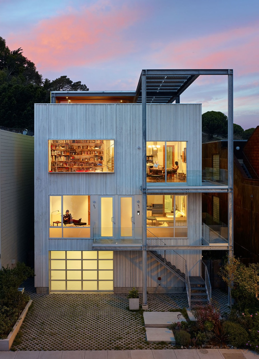 Xiao-Yen's House / Craig Steely Architecture. Image © Bruce Damonte