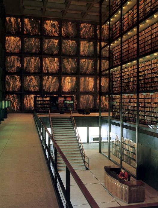 Beinecke Rare Book & Manuscript Library / SOM. Image © Ezra Stoller of Esto Photographics