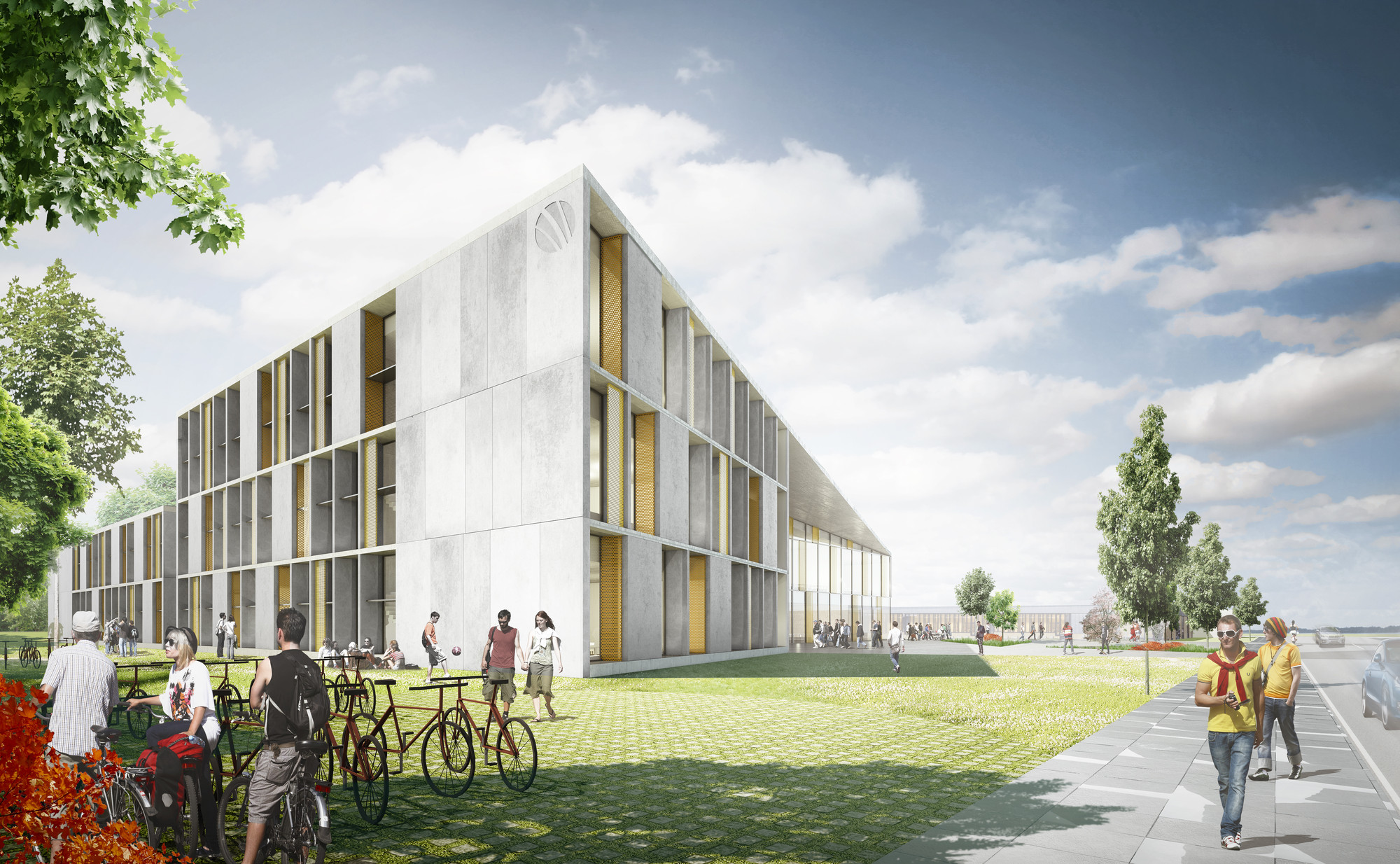 c f møller selected to design vocational school in c f møller selected to design vocational school in courtesy of c f møller architects