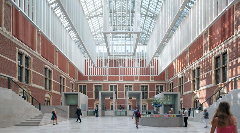 Premio Internacional: The new Rijksmuseum. Image © Duccio Malagamba [Vía FAD]