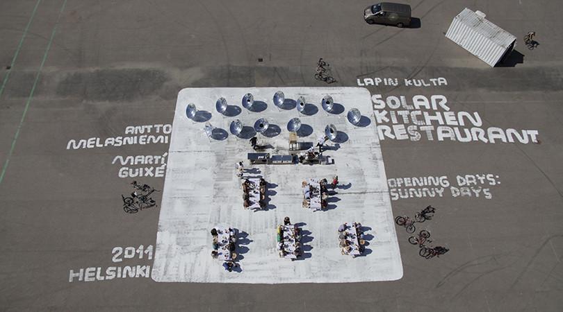 Premio Internacional: Solar Kitchen Restaurant. Image © Inga Knölke [Vía FAD]