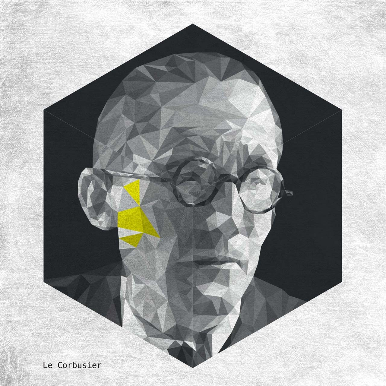 LE CORBUSIER. Image Courtesy of Yannick Martin