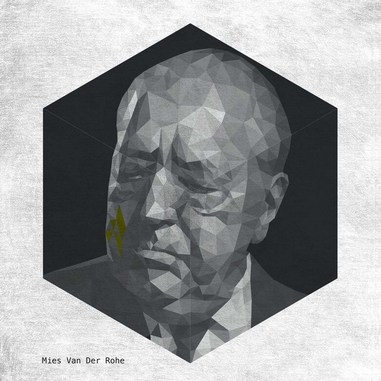 MIES VAN DER ROHE. Image Courtesy of Yannick Martin