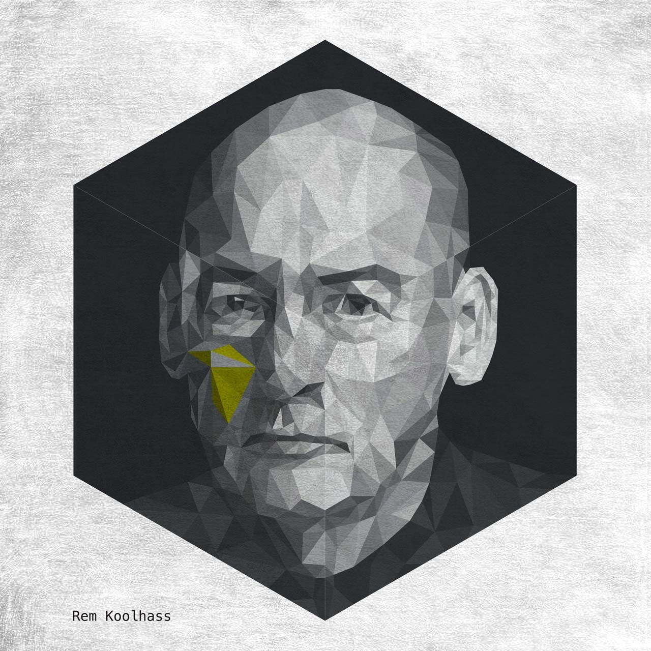 REM KOOLHAAS. Image Courtesy of Yannick Martin