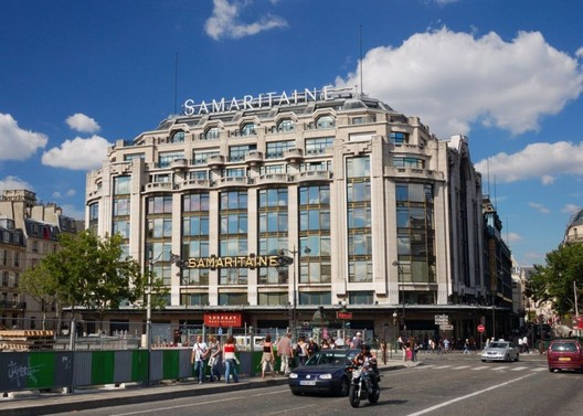 La Samaritaine was once Paris' most famous department store. Image via Wikipedia