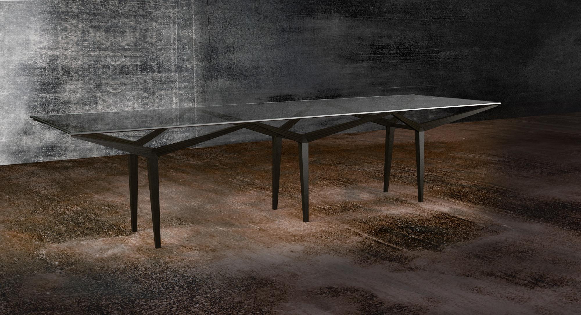 Mesa Double Frame / Iosa Ghini Associati, Courtesy of IOSA Ghini Associati