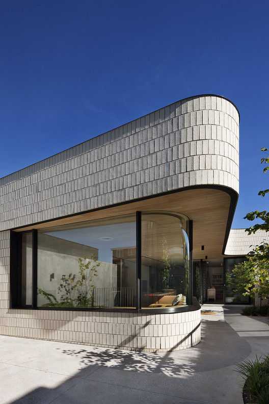 Brick House Clare Cousins Architects Archdaily
