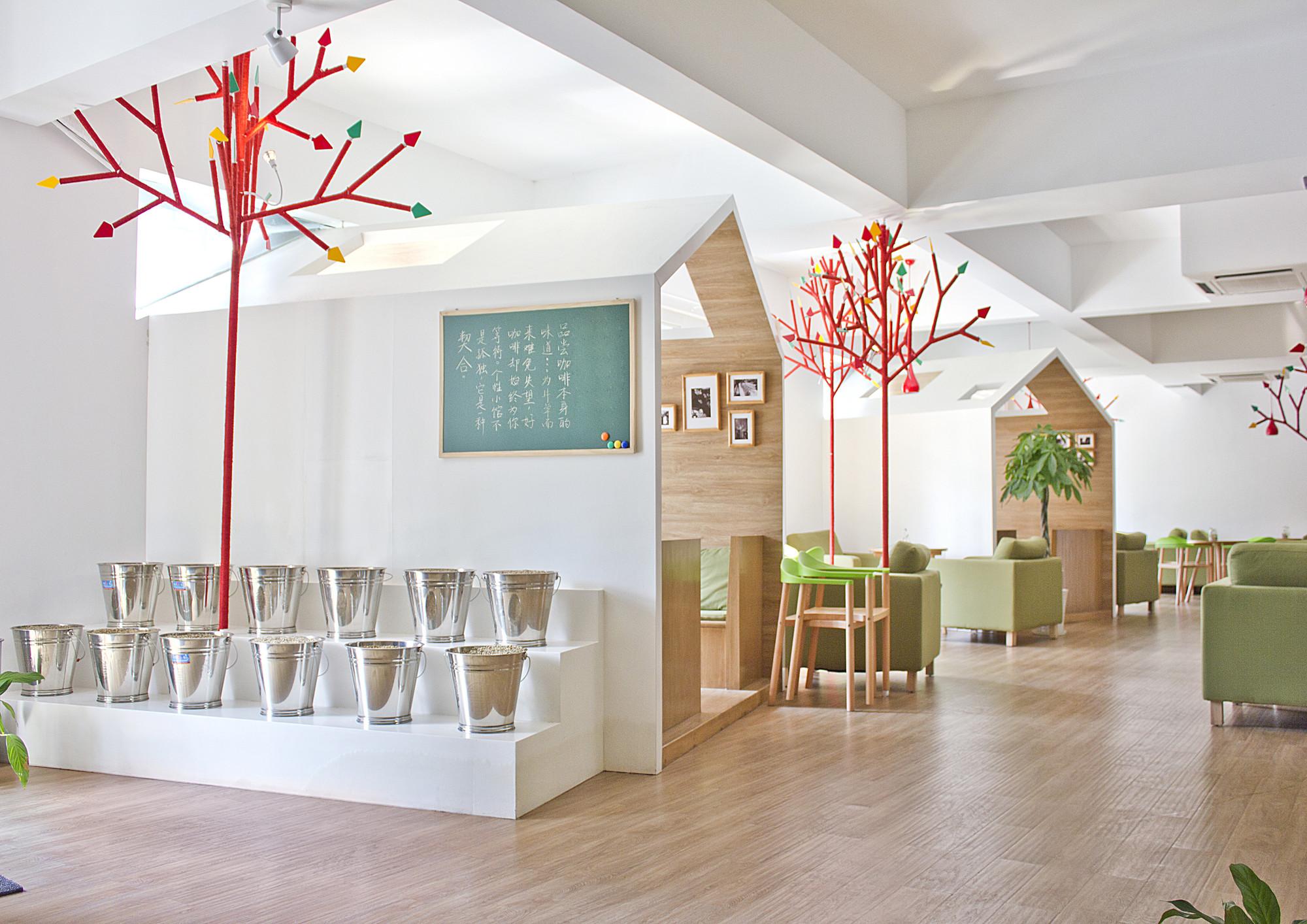 Kale Café / YAMO Design, Courtesy of YAMO Design