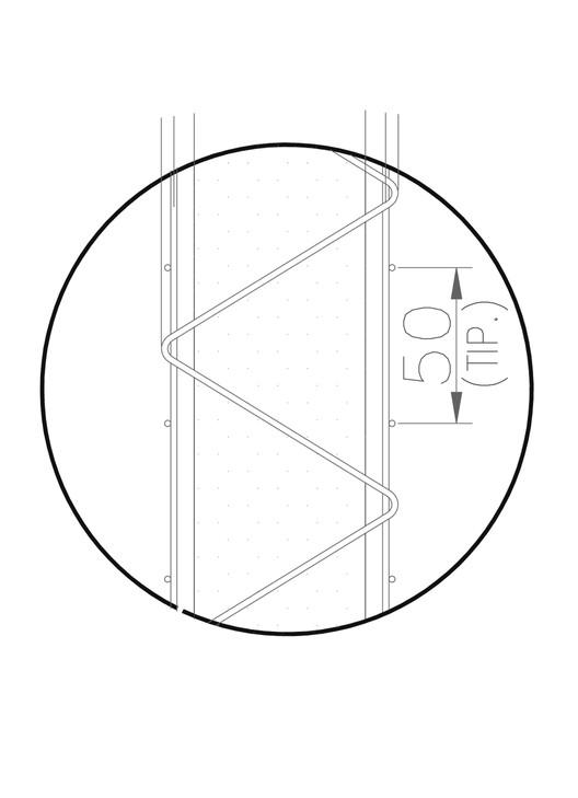 Detalle escalerilla