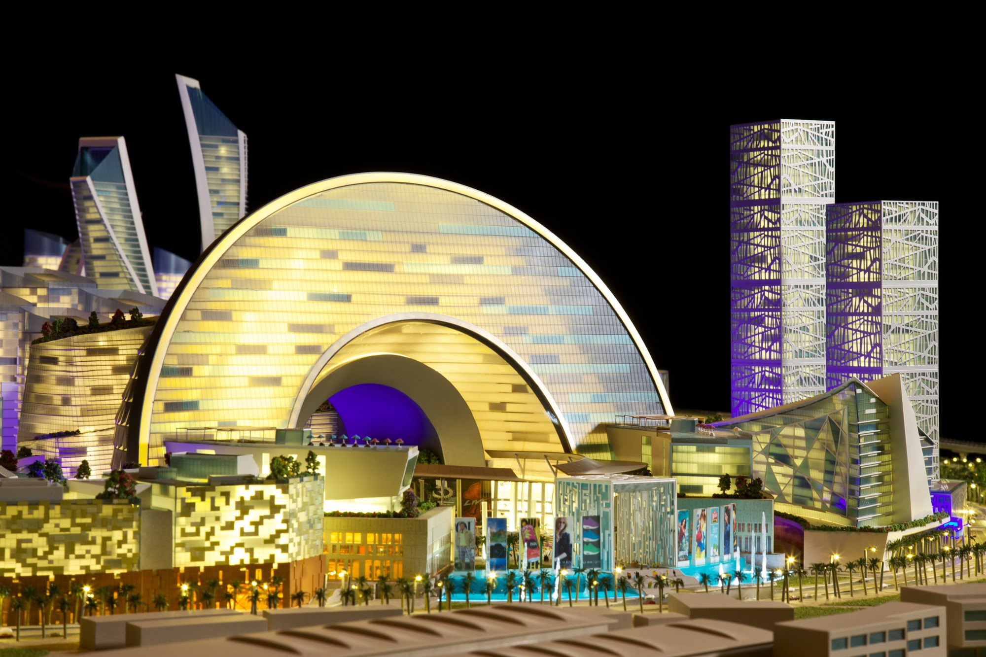 Dubai Cultural District. Image Courtesy of Dubai Holding