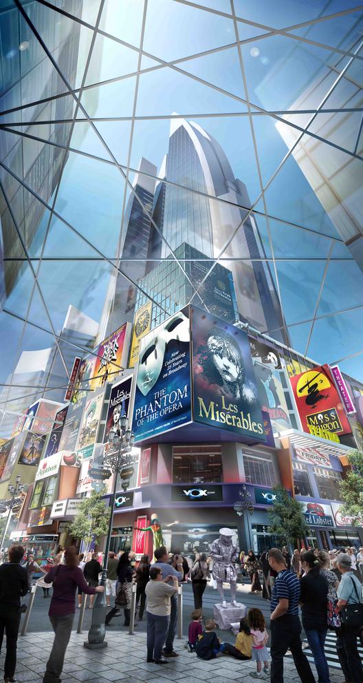 Distrito cultural de teatros de Dubai. Imágen cortesía de Dubai Holding