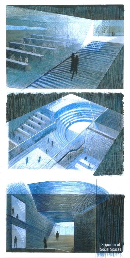 Bocetos de Tadao Ando / Cortesía de UDEM