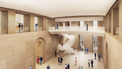 Gehry Unveils Designs to Extend the Philadelphia Art Museum Downwards