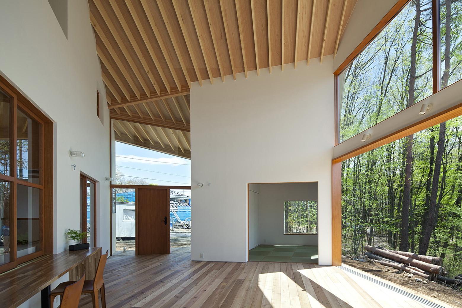 House for Viewing the Mountain / Kawashima Mayumi Architects Design, © Toshiyuki Yano