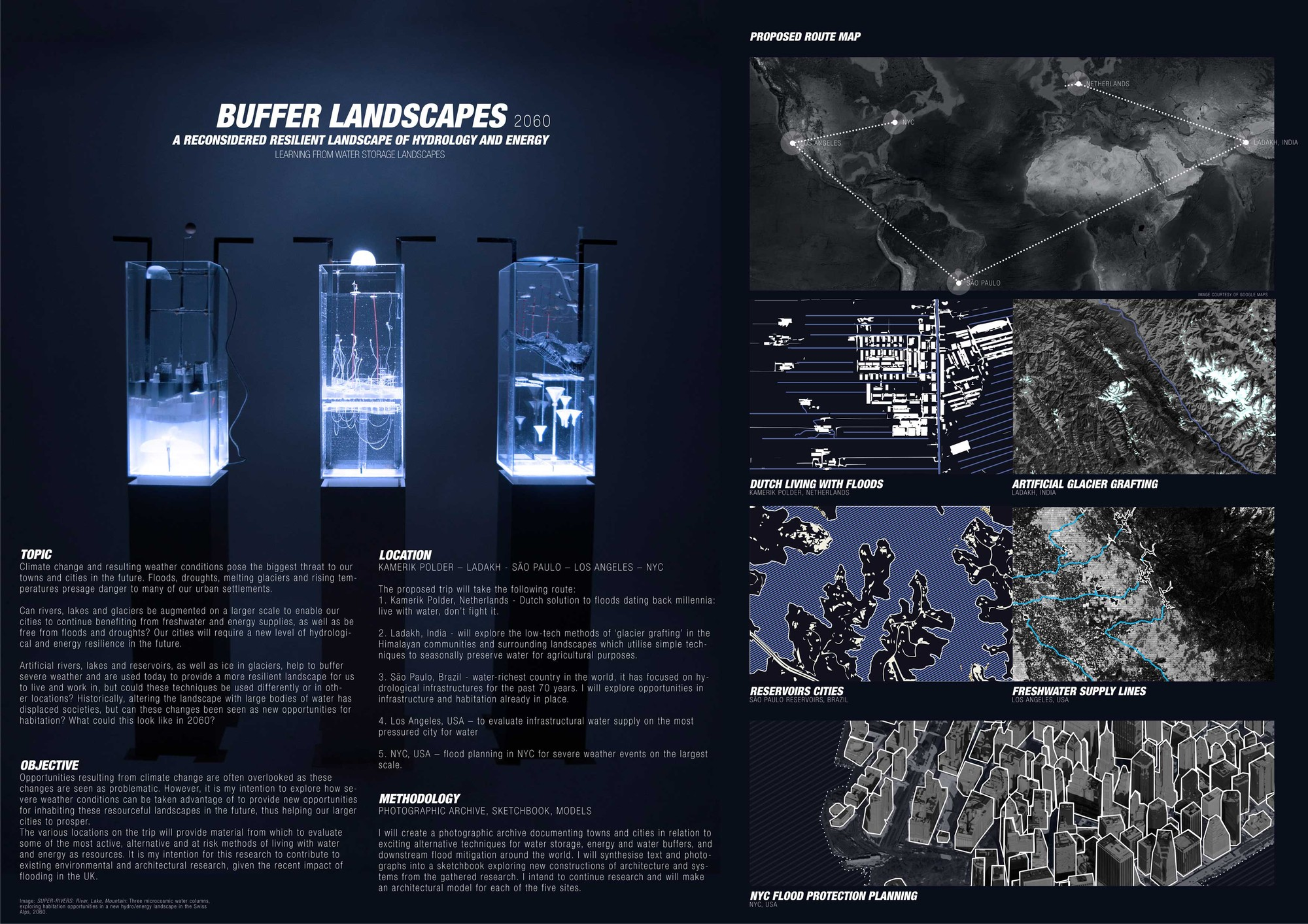 Buffer Landscapes 2060. Image © Joe Paxton; Courtesy of Foster + Partners