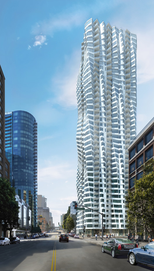 Studio Gang Architects Reveals Design of Twisting San Francisco Skyscraper, © Studio Gang Architects