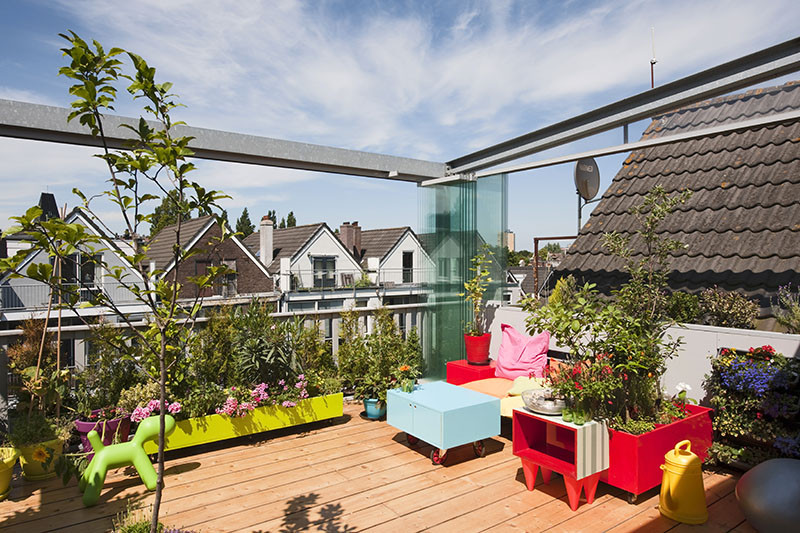 dutch architects transform rotterdam house into terraced urban paradise archdaily. Black Bedroom Furniture Sets. Home Design Ideas