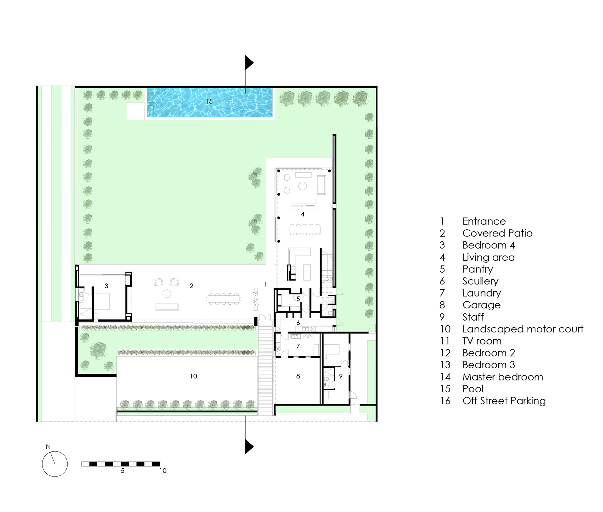 Motor pool floor plan for Hyde homes floor plans