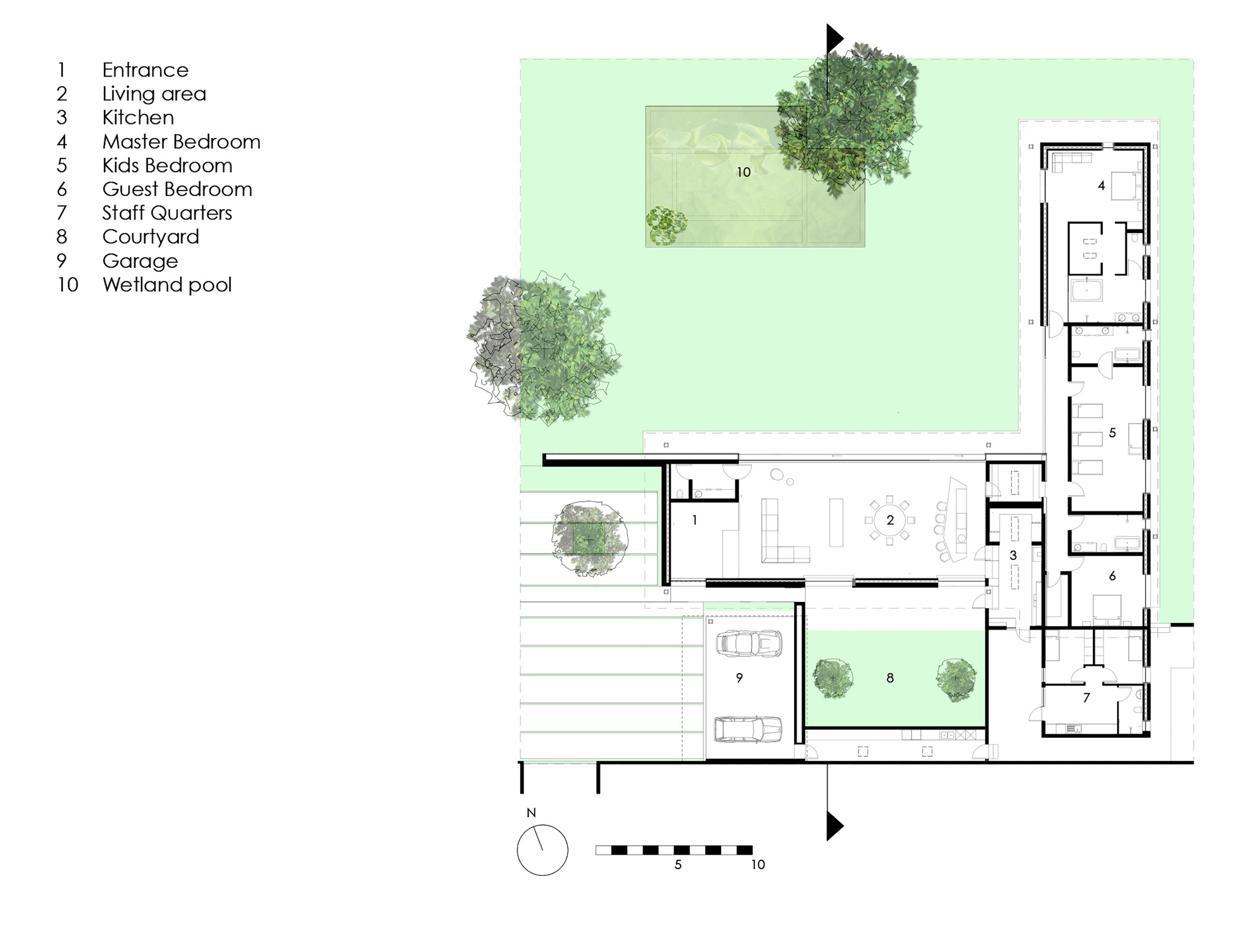 House 02 hyde park daffonchio associates architects for Hyde homes floor plans