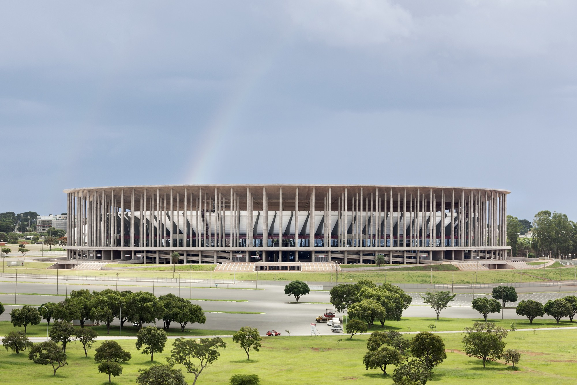 Brasilia National Stadium / Castro Mello Arquitetos with gmp architekten + schlaich bergermann und partner, © Marcus Bredt