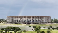 Brasilia National Stadium / gmp Architekten + schlaich bergermann und partner + Castro Mello Arquitetos