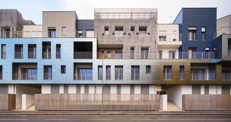 """Conjunto de viviendas """"Regolo Quarter"""" / 5+1AA, © Luc Boegly"""