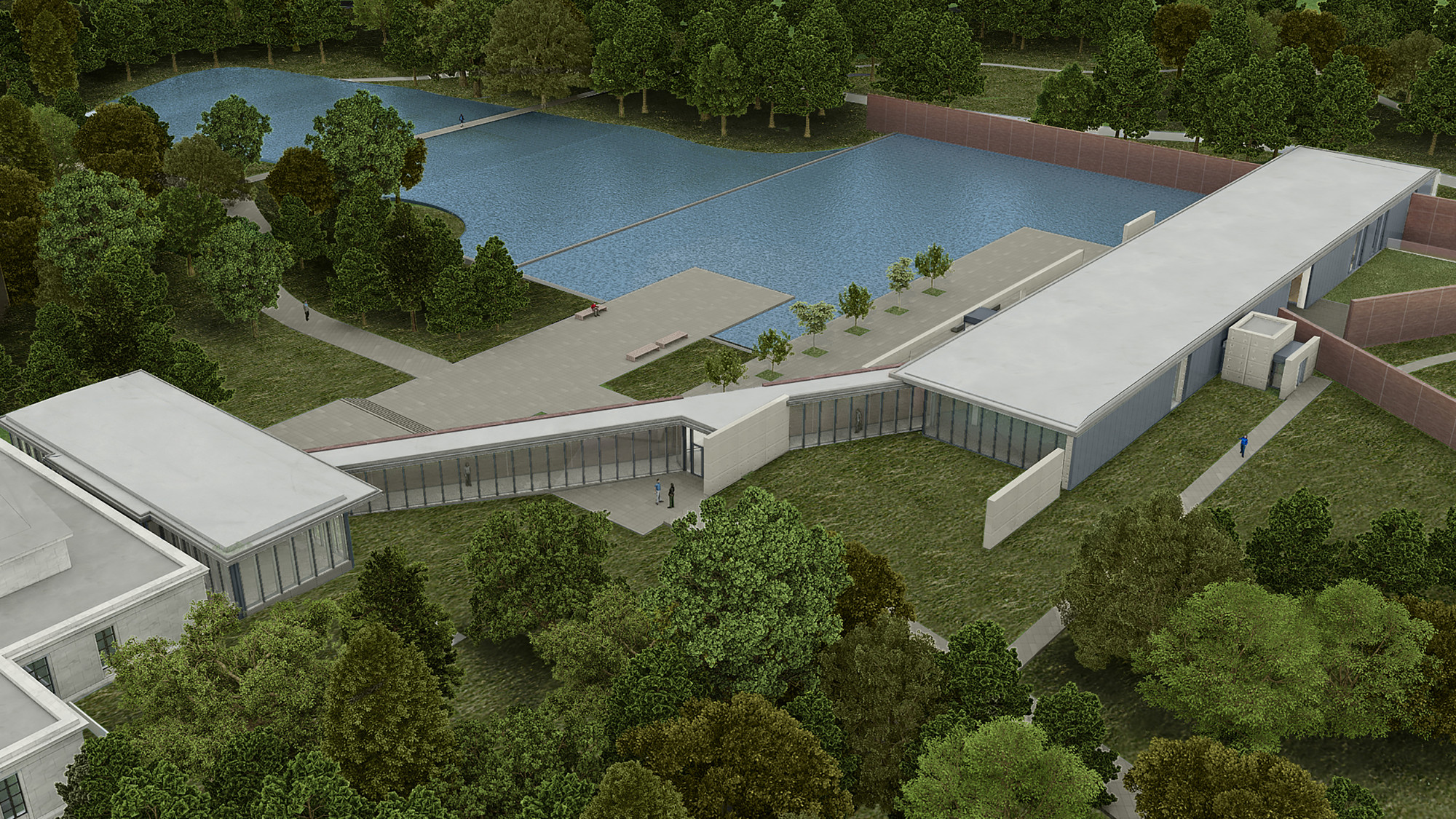 Gallery of clark art institute tadao ando architect for Architect associates