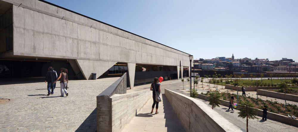 La XIX Bienal chilena de Arquitectura y Urbanismo se realizará en el Parque Cultural Valparaíso diseñado por HLPS. Image © Cristóbal Palma