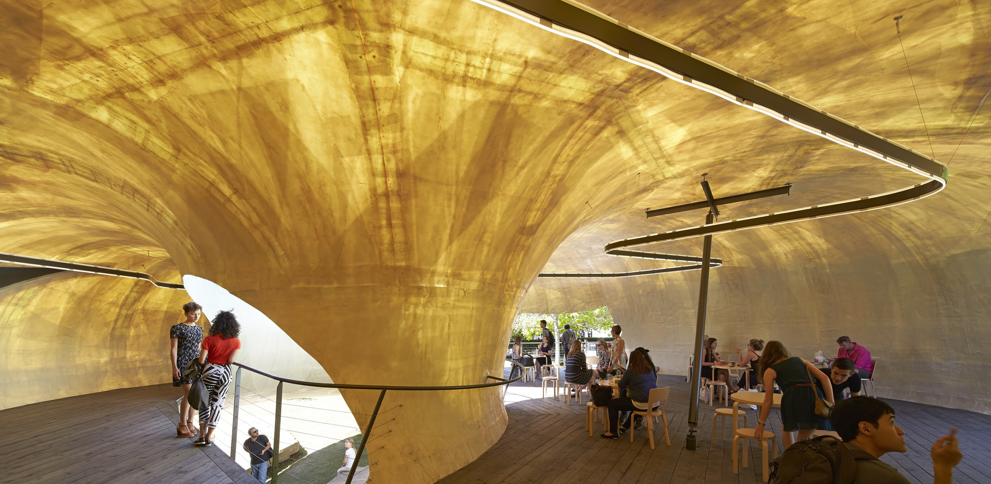 Smiljan Radic's Serpentine Pavilion / Images by Hufton+Crow, © Hufton+Crow
