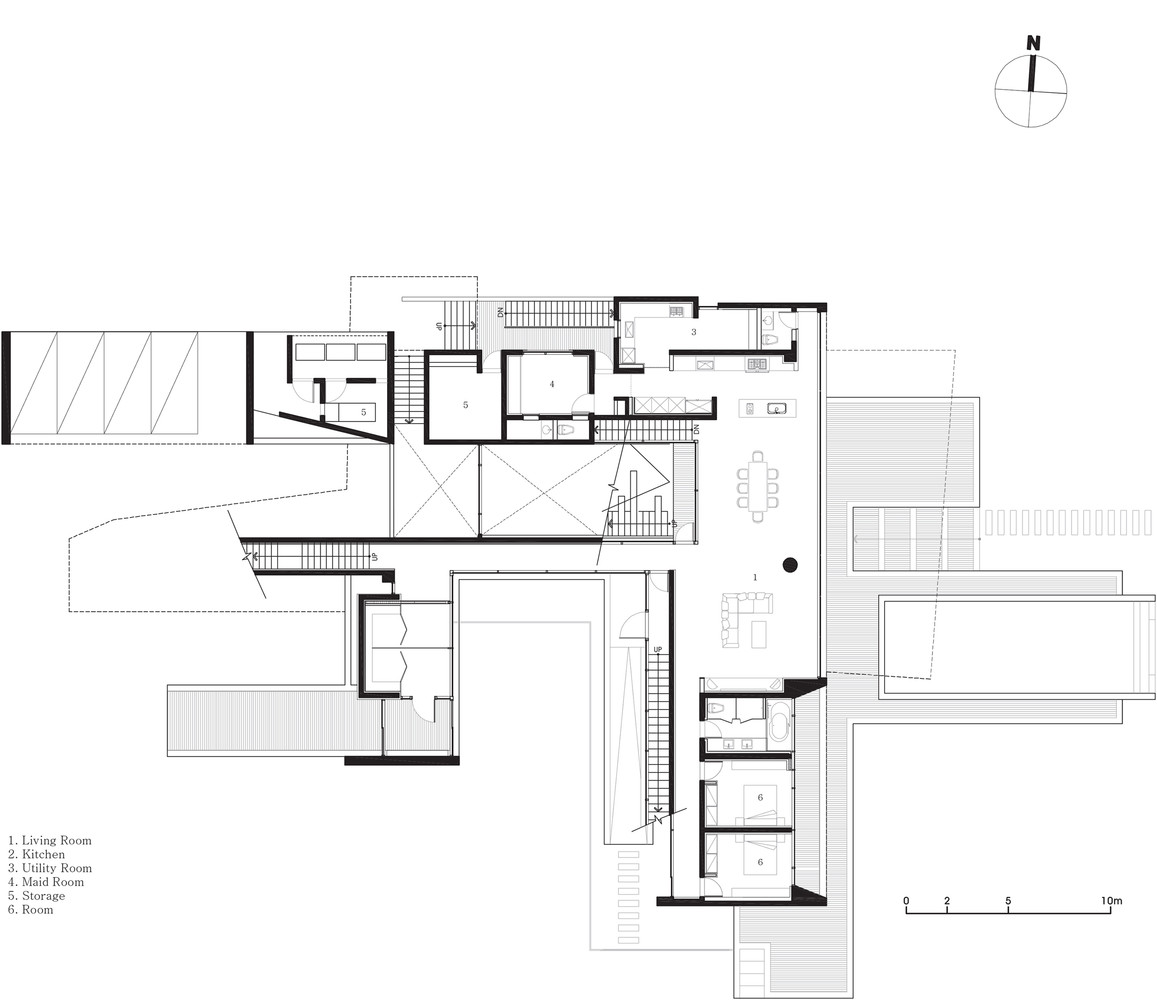 gallery of guest house rivendell idmm architects 19 guest house rivendell first floor plan