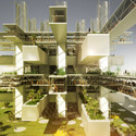 Second Place, Mixed Used Concept: SANE Architecture's Taichung City Cultural Centre. Image Courtesy of SANE architecture