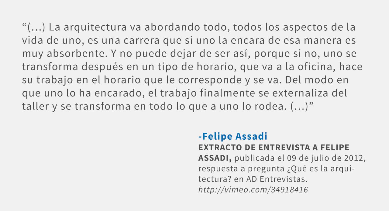 Frases: Felipe Assadi